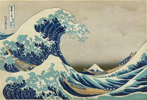 La grande onda_Hokusai