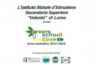 certificato green school 17-18