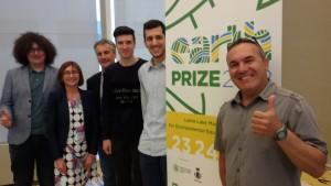 Presentqzione Earth Prize - Milano 14 giugno 2018
